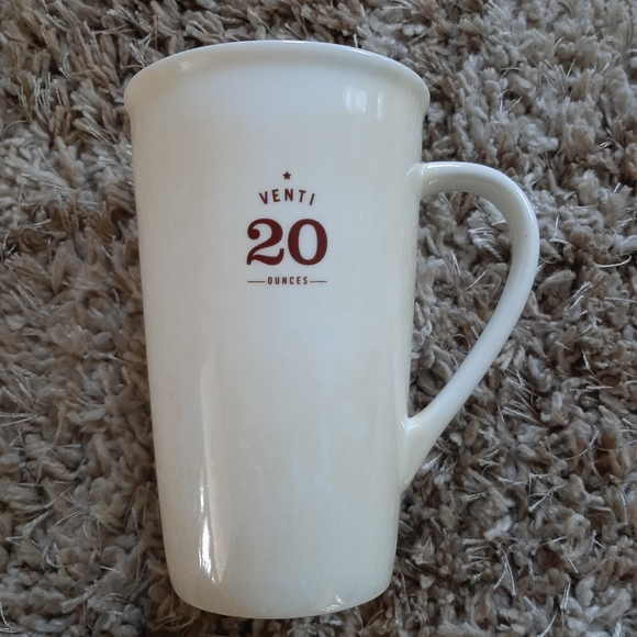 Starbucks 'Venti' 20 Ounce Coffee Tea Mug